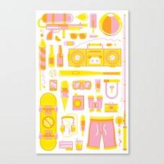 Summer Jawns Canvas Print