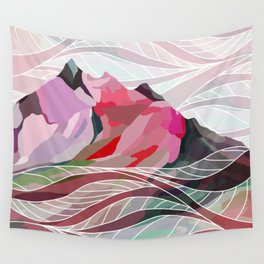 Ocean Sea Mountains Wall Tapestry