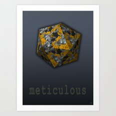 Meticulous Art Print