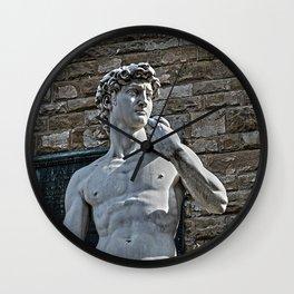 The Statue of David Wall Clock