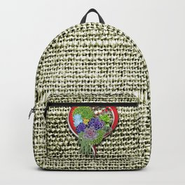 Succulent-lovers Garden Plant Backpack