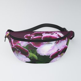 Pink Purple Flower Power Fanny Pack