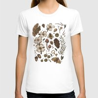 T-shirts featuring Nature Walks (Light Background) by Jessica Roux