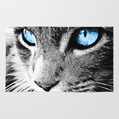 Kitty Blue Eyes Rug