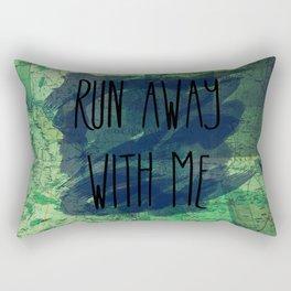 Right Now Rectangular Pillow