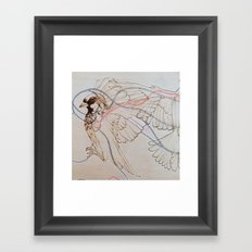 Our Little Hearts Are Intertwined (right) Framed Art Print