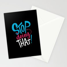 Stop Doing That! Stationery Cards