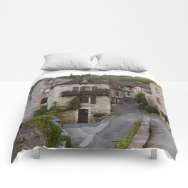That Village in the French Countryside Comforters