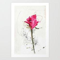 rose5 Art Print