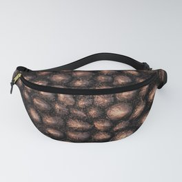 Golden Rouge Sea Shell Fanny Pack