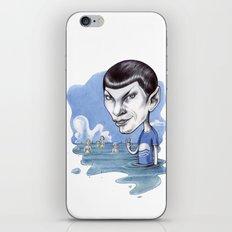 spock iPhone & iPod Skin