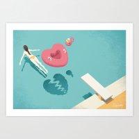 breaking Art Prints featuring Breaking by Andrea De Santis