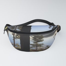 Lake Tahoe cabin view Fanny Pack