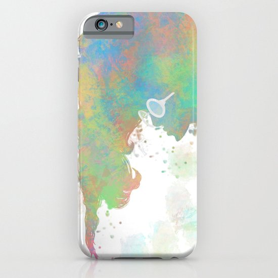 Pastel Silhouette iPhone & iPod Case