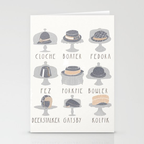 EAT MY HAT Stationery Cards