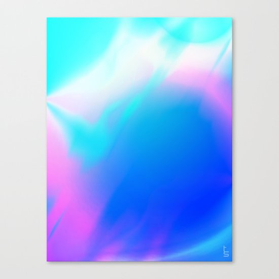 Pastel Vortex Canvas Print