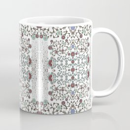 Millefiori flowers design- hand painted-3D effect-romantic and floral Coffee Mug