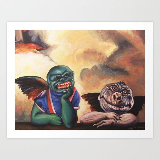 Ghoulubs Art Print