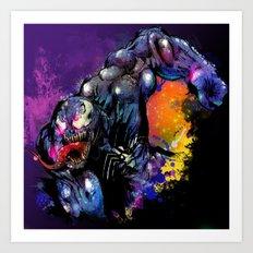 Venom Art Print