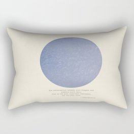 The Talk Rectangular Pillow