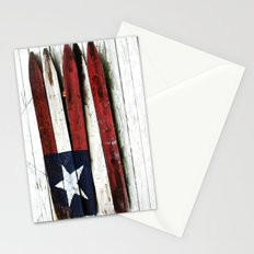 The Grand Ol' Wooden Flag Stationery Cards