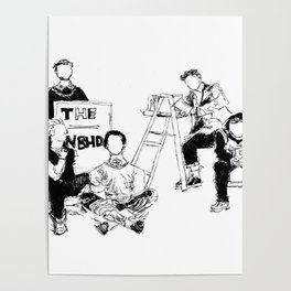 The neighbourhood: band Poster