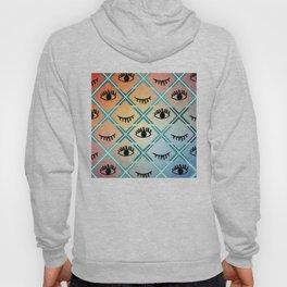 Original Colorful Eyes Design Hoody