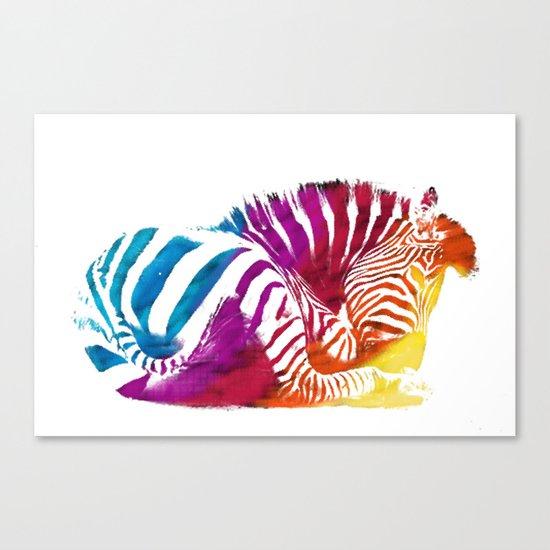 CEBRA Canvas Print