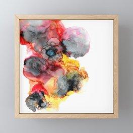 Finding The Sunshine Despite The Storm Framed Mini Art Print