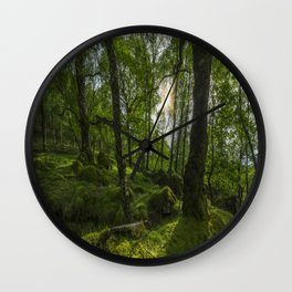 Summer Evenings In Wales Wall Clock