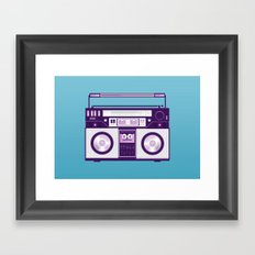 Listen to my... Framed Art Print