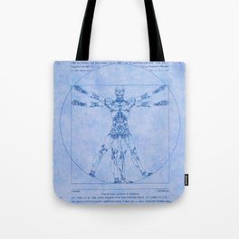 Proportions of Cyberman Tote Bag