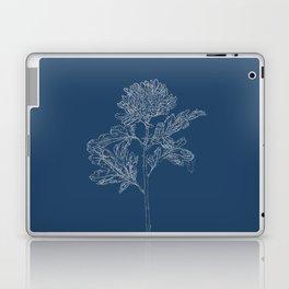 Chrysanthemum Blueprint Laptop & iPad Skin