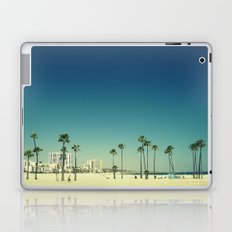 Summer Beach Blue Laptop & iPad Skin