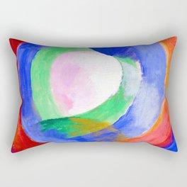 Robert Delaunay Circular Forms Rectangular Pillow