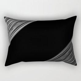 Black white pattern 4 Rectangular Pillow