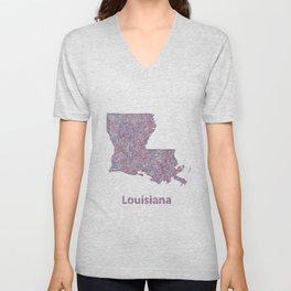 Louisiana Unisex V-Neck