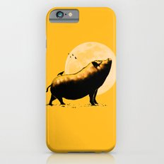 barking pig iPhone 6 Slim Case