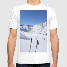 A Good Day Mens Fitted Tee White MEDIUM
