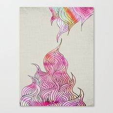 Watercolor Pattern Canvas Print
