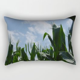 Tasseled Tops Rectangular Pillow