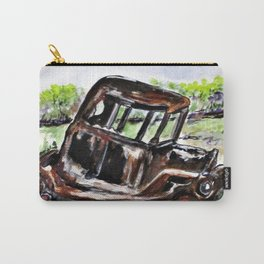 Wrecked And Rusting Carry-All Pouch