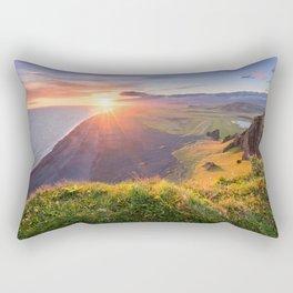 Northern Paradise Rectangular Pillow