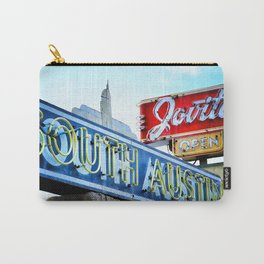 South Austin Neon Carry-All Pouch