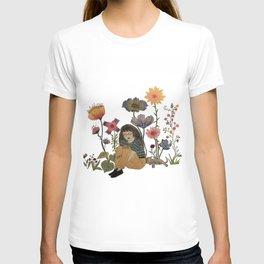 Wildflower Blues. By: Ash Kinslow T-shirt