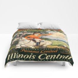 Vintage poster - Gulf Coast Comforters