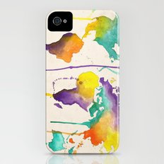 World Splash iPhone (4, 4s) Slim Case