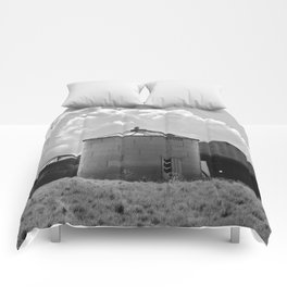 Silo Farm Photograph Comforters