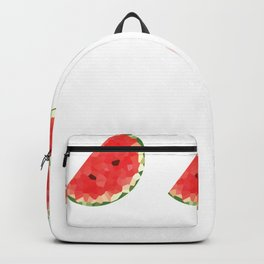 watermelon 1x3 pattern, fill, repeating, tiled | elegant Backpack
