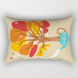 Tea Leaves Rectangular Pillow